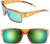 Smith Optics Women's 'Outlier Xl' 56Mm Polarized Sunglasses - Honey Tortoise/ Polar Green