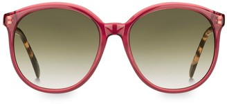 Givenchy 7107/S 56MM Round Sunglasses