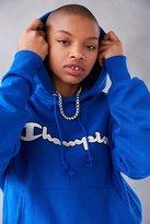 Champion + UO Logo Patch Hoodie Sweatshirt