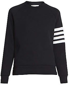 Thom Browne Women's Striped Raglan Sleeve Sweater