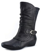 Bare Traps Womens Shelby Round Toe Mid-calf Riding Boots.