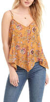 Patrons Of Peace Yellow Floral Top