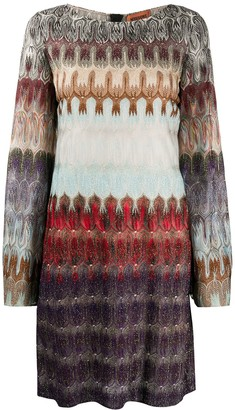 Missoni Abtract Print Shift Dress