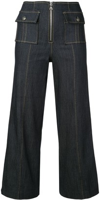 Cinq à Sept Azure jeans