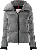 Moncler Bandama metallic puff jacket