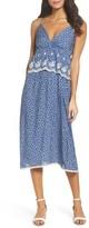 Women's Fraiche By J Embroidered Midi Dress