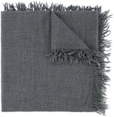 Attachment fringed scarf