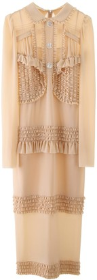 Miu Miu Ruffled Dress