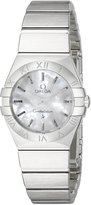 Omega 12310246005001 Women's Wrist Watches, Dial, Silver Band