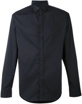 Armani Collezioni simple shirt - men - Cotton/Polyamide/Polyester/Spandex/Elastane - M