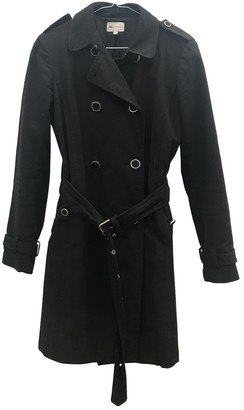 Vanessa Bruno Black Cotton Trench Coat for Women