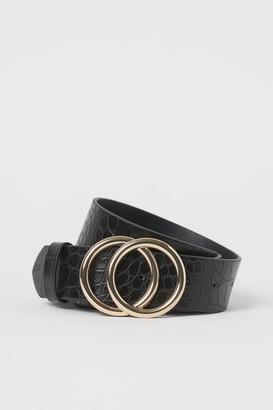 H&M Wide Belt - Black