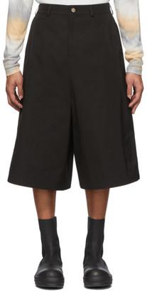 Keenkee Black Capri Culotte Shorts