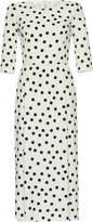 Dolce & Gabbana Polka-Dot Midi Dress