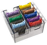 Wahl Metal Stainless Steel 8 Guide Comb Set For Super Groom
