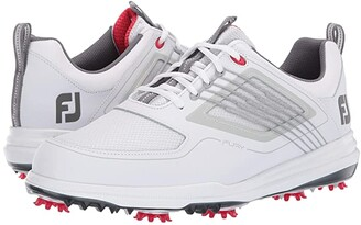 Foot Joy FootJoy Fury (White/Red) Men's Golf Shoes