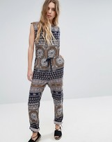 Glamorous Print Jumpsuit