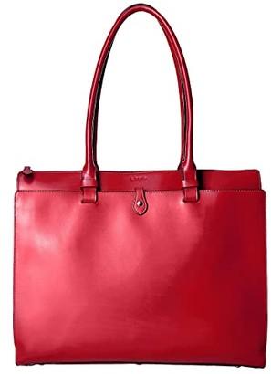 Lodis Audrey RFID Jessica Work Satchel (Red RFID) Satchel Handbags