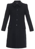 Yohji Yamamoto REGULATION Point-collar single-breasted wool jacket