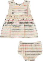 Anthem of the Ants INTARSIA-KNIT DRESS & BLOOMERS SET