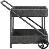 Modway Sojourn Bar Serving Cart