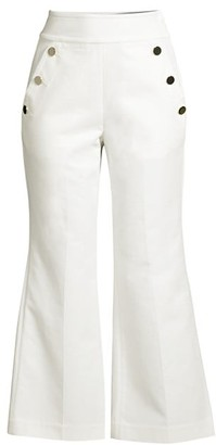 Sailor Twill Cropped Pants