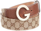 Gucci GG Canvas Belt