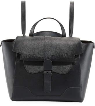 Senreve Maestra Mimosa Leather Satchel Bag