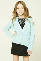 Forever 21 FOREVER 21+ Girls Purl Knit Cardigan (Kids)