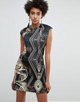 Star Wars Asos Design ASOS x Scuba Printed Mini Dress