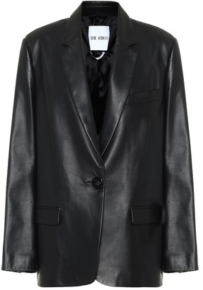 ATTICO Bianca leather blazer