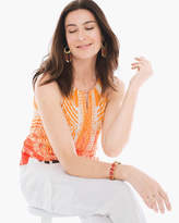 Chico's Tribal Sunset Top