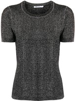 Alexander Wang Short Sleeve Knit Top