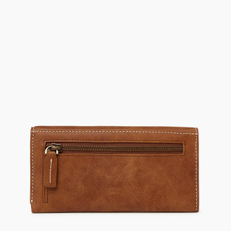 Roots Medium Trifold Clutch Tribe