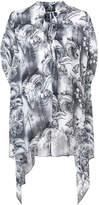 Thomas Wylde Tongea ram skull blouse