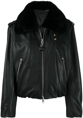 Diesel Fur Collar Jacket