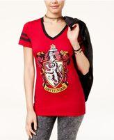 Harry Potter Juniors' Hogwarts Houses Graphic T-Shirt