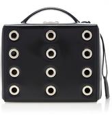 Mark Cross Eyelet Brush Off Grace Large Box Bag