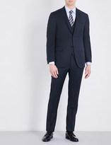 Corneliani Nailhead regular-fit wool suit