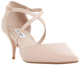 Dune Courtnee Cross Strap Court Shoes