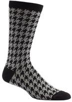 Ozone Men's Houndstooth Crew Socks (2 Pairs)