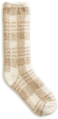 Barefoot Dreams Cozychic Plaid Socks