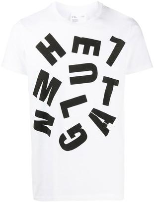 Helmut Lang graphic-print crew-neck T-Shirt
