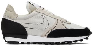 Nike Beige and Black Daybreak-Type Sneakers
