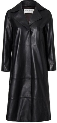 Stand Studio Melissa Leather Trench Coat
