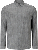 Samsoe & Samsoe Liam Shirt, Light Grey Melange