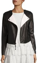 Joie Benicia Leather Moto Jacket