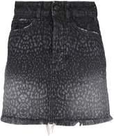 Marcelo Burlon County of Milan Fringed Hem Skirt