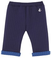 Petit Bateau Baby girls quilted pants