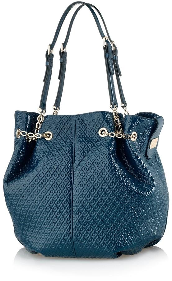Tod's Signature Medium Patent Leather Tote Bag